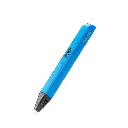 Aibecy 3D Printing Pen Display OLED lavoro con ABS PLA Filamento per bambini Art Craft disegno regalo fai da te