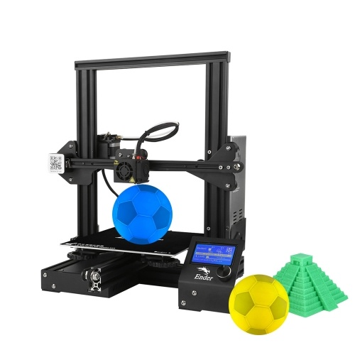 Creality 3D Ender-3 3Dプリンタキット、5メートルフィラメント