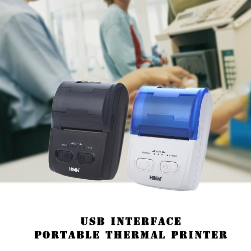 HOP-H200 Thermal Printer Receipt Machine Printing Support USB Connection