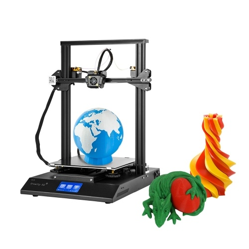 Creality 3D CR-X 3D Printer Kit Precise Double Colors Printing 50-180mm/s High Speed With 2 PLA Filaments