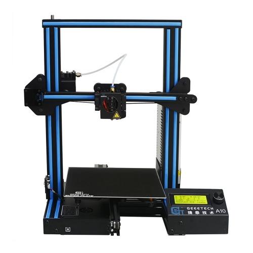 Taille de l'imprimante haute précision 220 * 220 * 260mm de l'imprimante de kit de l'imprimante 3D de Geeetech A10