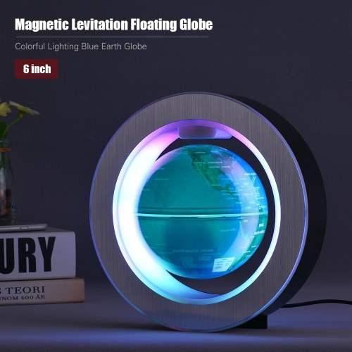 6 Inch Magnetic Levitation Floating Globe