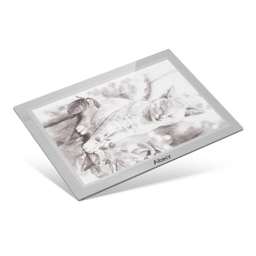 Aibecy White A4 Ultra-fino Portátil LED Tracer Box Light