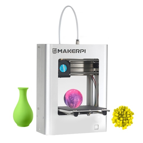 MakerPi M1 Desktop Mini 3D Printer Fully