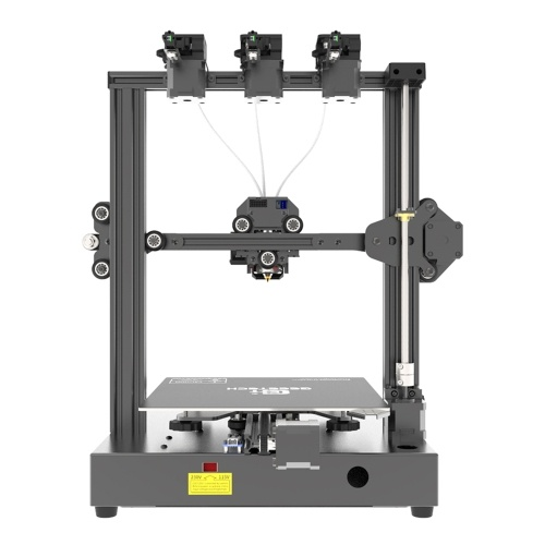 Geeetech A20T 3D Printer Fast Assembly 3-in-1 Out Mix-color Printing with GT2560 Control Board High Precision Support Resume Printing Filament Detection 250*250*250mm Build Volume