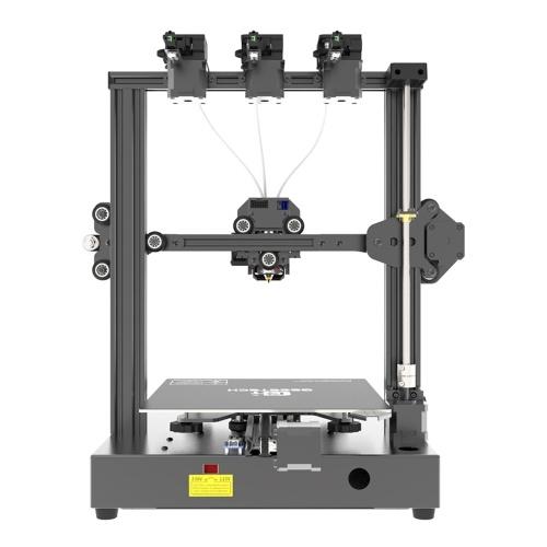 Stampante 3D Geeetech A20T Assemblaggio rapido Stampa 3 in 1 Stampa a colori misti con scheda di controllo GT2560 Supporto ad alta precisione Riprendi stampa Rilevamento filamenti 250 * 250 * 250mm Volume di costruzione