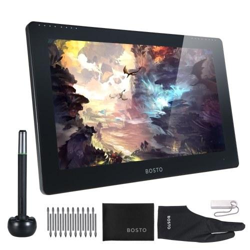 Computer All-in-One per tablet da disegno con monitor grafico portatile da 15,6 pollici BOSTO Studio 16HD