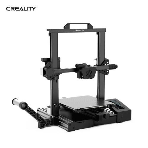 Creality 3D CR-6 SE Upgraded High Precision 3D Printer DIY Kit Printing Size 235*235*250mm with 4.3in HD Color Touchscreen Silent Motherboard 8G SD Card PLA Sample Fialment Support Auto Leveling Resume Printing Filament Detection