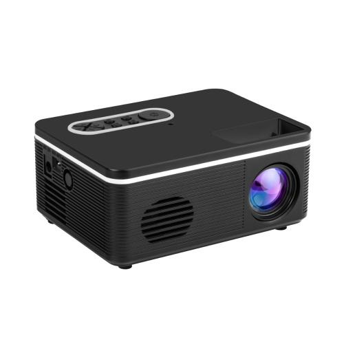 Aibecy S361 Mini tragbarer LED-Projektor Unterstützung 1080P 600 Lumen Eingebauter Lautsprecher Multimedia-Video-Filmprojektor mit HD / USB / AV / TF / Audioausgang für Heimkino-Unterhaltung
