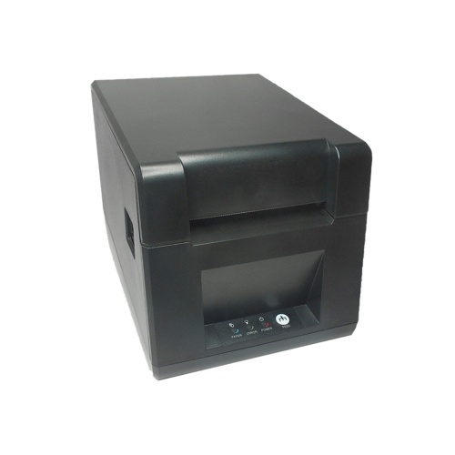 GOOJPRT Desktop 80mm Thermal Label Printer Wired Barcode Printer USB Connection with 1 Roll Paper Comaptible with Windows for Supermarket Store Restaurant Logistics