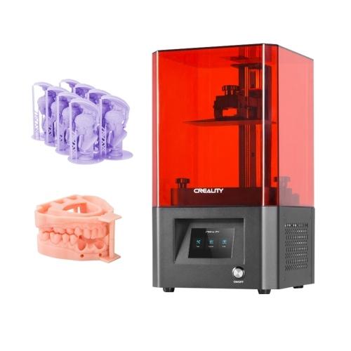 Original Creality LD-002H LCD-Harz 3D-Drucker UV-Lichthärtung 130 * 82 * 160 mm Druckgröße 2K Hochauflösendes LCD mit 3,5-Zoll-Touchscreen-Luftfiltersystem Z-Achsen-Linearschiene Offline-Druck Einfache Nivellierung
