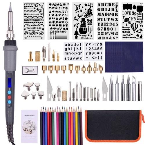 79PCS Wood Burning Tool Kit