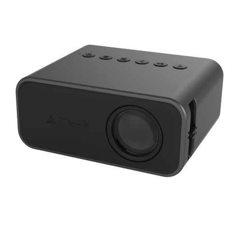 UNIC Mini Proyector Proyector portátil para teléfono al aire libre Soporte 1080P Video Home Theater Reproductor multimedia con cable LED Beamer con HD / USB / AV / Tarjeta TF / DVD Audio Sistema iOS y Android