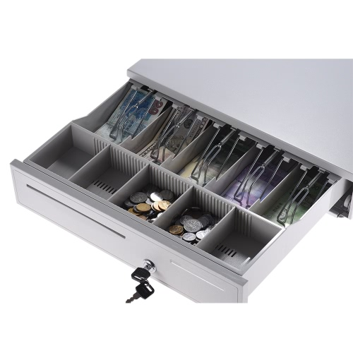 Heavy Duty Electronic 405 Коробка для хранения ящиков для ящиков 5 Билл 5 Монетные лотки Check Entry