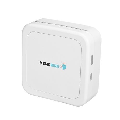 MEMOBIRD GT1 Pocket Thermodrucker BT Wireless Printing Fotos Notizen Quittungen