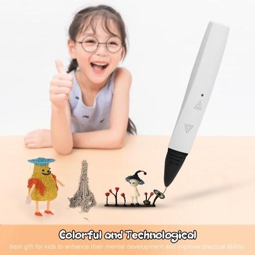 タッチキー操作の低温PLA / ABS 3D印刷のフィラメントの自動速度の3Dプリンターペンは理性的な印刷ペンを調節します