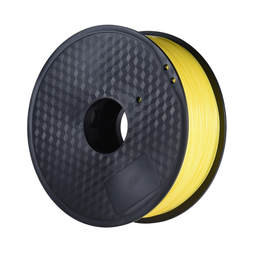 Color Optional PLA Filament 1kg-Roll 2.2lb 1.75mm for MakerBot Anet RepRap 3D Printer Pen Yellow