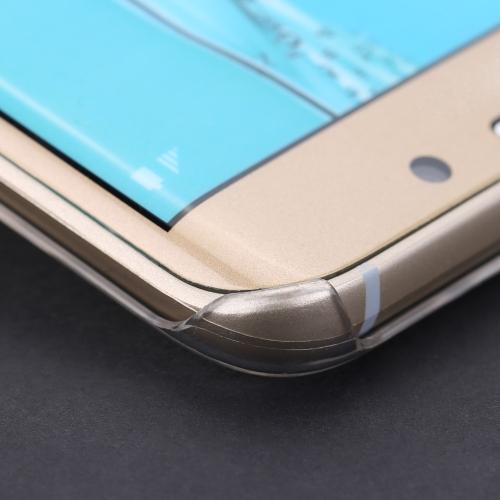 "Luxury Cute 3D Glitter Handmade Crystal Bling Diamond Clear Transparent Hard PC Case for Samsung Galaxy S6 Edge Plus 5.7"""