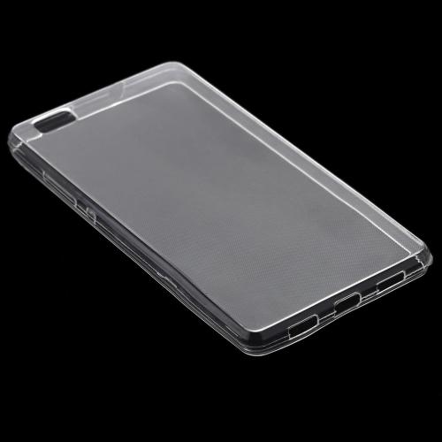 COCOGOO Ultra Slim protecteur clair affaire douce Protection housse haut transparent pour HUAWEI P8 Lite