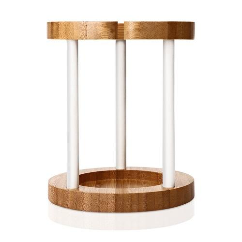 Docooler Support de Support de Chargement en Bambou pour Amazon Echo Speaker Eco-friendly Stylish Poids Léger Portable Durable
