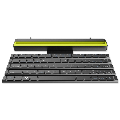 ROCK R4 Multi-função Wireless Rollable Bluetooth QWERTY Keyboard Scroll Design