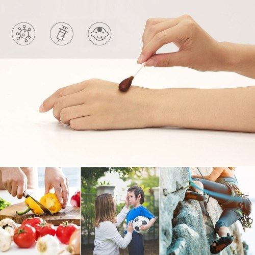 25 teile / los Xiaomi Miaomiaoce Povidone-lodine Swabstick Desinfizieren Wattestäbchen-Stick Wunde Dressing Reise Medical Supplies Medical Kit Rettungsschwimmer