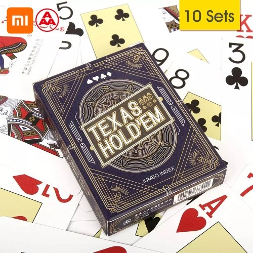 Xiaomi Youpin Three A TEXAS HOLD'EM Playing Cards Poker Board Game Playing Cards Party Gathering Game Cards 56Pcs Cards