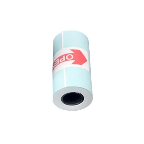 Thermodruckpapier Selbstklebender bedruckbarer Aufkleber Kompatibel mit Paperang Mini-Taschendrucker P1 P2 P2S Langlebig 3 Jahre 3,8 m Papier 57 x 30 mm