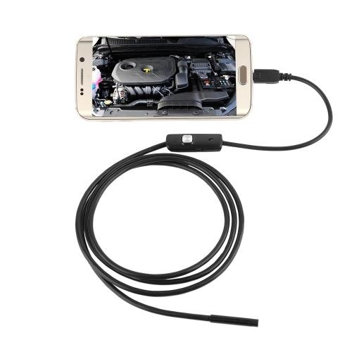 AN98B Телефон Эндоскоп 5.5 мм 5 М Кабель 640 * 480 HD USB Водонепроницаемый Эндоскопа Инспекции Камера Бороскоп для Android Мобильный Телефон ПК