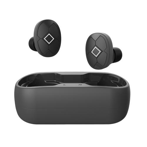 Беспроводные стереонаушники V5 TWS Наушники управления одной кнопкой Наушники для музыки Громкость голосового управления Гарнитура с чехлом для зарядки и кабелем Совместимо с Siri Android iOS