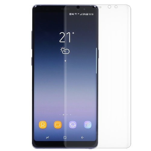 2D Arc Protective Phone Screen Protector Tampa de filme HD para 6,3 polegadas Samsung Galaxy Note 8 Anti-scratch Anti-dust Durable