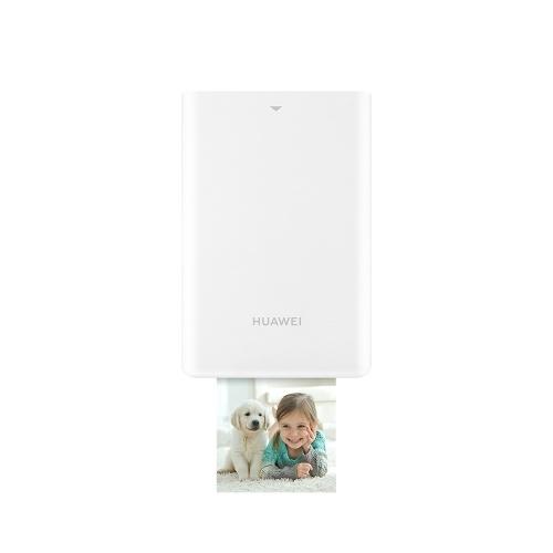 Original Huawei Zink Portable Photo Printer AR Printer 300dpi Honor Mini Pocket Printer BT4.1 Support DIY Share 500mAh