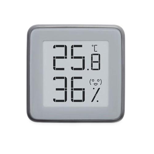 MiaoMiaoCeデジタルBT温度計および湿度計Electronic-INKスクリーンルーム温度計および温度湿度モニター付き湿度計3か月のデータストレージMHO-C401