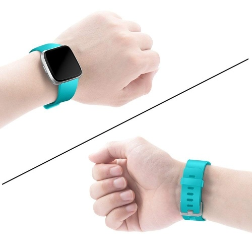 SDGJ-009 Watch Band Fitbit Strap Silicone Wrist Strap Replacement Wristband Replacement for Fitbit Versa Fitness Smart Watch
