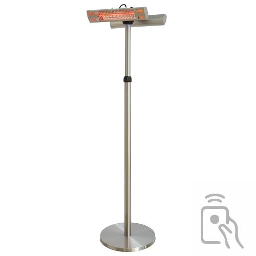 Chauffage à poser d'extérieur double lampe halogène - 3000W