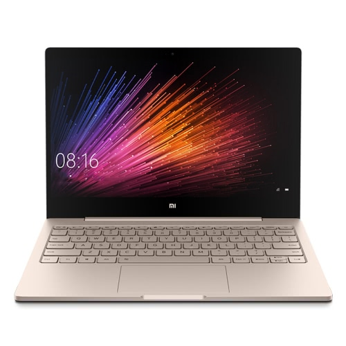 Xiaomi Air Laptop Notebook Computer 12.5-inch FHD Screen Intel Core m3 2.6GHz 4GB + 128GB SSD HD Graphics 615 Integrated 1MP Camera USB-C Windows 10 Home WiFi BT4.1