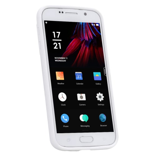 чехол для Samsung Galaxy S6 эко-материал стильный портативный ультратонких царапинам антипылевым прочный