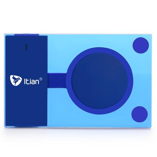 Originial Itian A10 Qi ワイヤレス充電パッド 5 w ワイヤレス充電器サムスン銀河 S6 S6 エッジ プラス LG G3 G2 Google のネクサス 4 5 6 7 ノキア 920 すべて Qi 対応機器