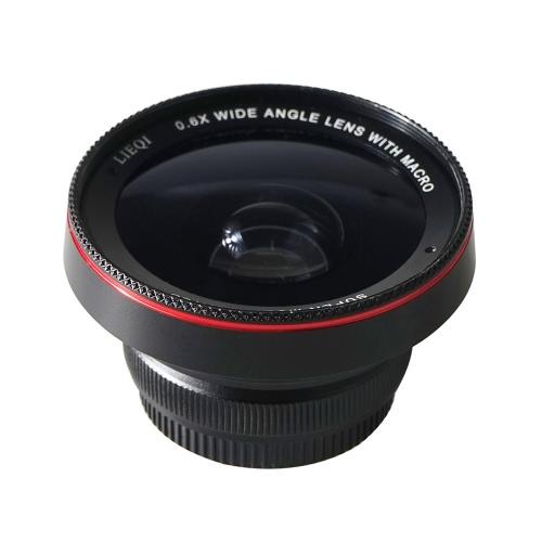 1 光ガラス レンズ 0.6 X 広角レンズ 10 X マクロ レンズ iPhone 6 6 s 用の LIEQI LQ 025 2 6 6 s プラス iPad ミニ空気サムスン S6 S7 S7 エッジ スマート フォン タブレット合金フレーム耐久性プラス