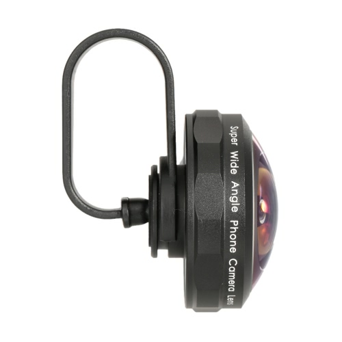 Arealer Universal Professional Super Wide Winkel Handy Kamera Objektiv Kit hohe Klarheit 238 Grad für iPhone Android-Smartphone
