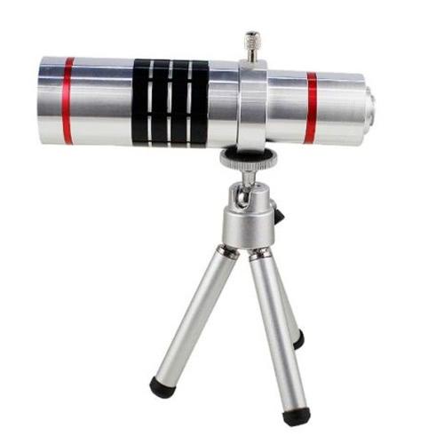 Universal 18 X Zoom téléphone appareil photo téléobjectif avec Mini trépied pour iPhone Samsung HTC accessoire de photographie