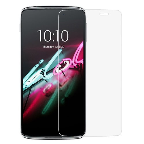 Link Dream Premium Glass Film Real Tempered Glass Screen Protector High Quality Anti-knock 9H Hardness 2.5D Craft for Alcatel Idol3 5.5inch
