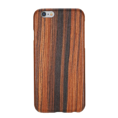 Natural de madeira de bambu Handmade Mobile Phone Hard Case Shell Moda tampa traseira de madeira para iPhone 6 / 6S não escorregar Magro Light Weight Super Fino