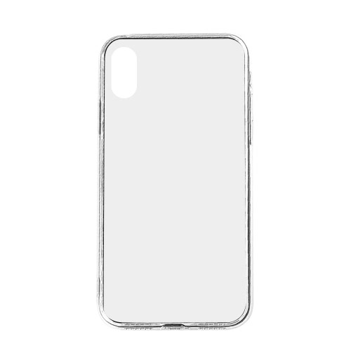 Haute qualité TPU Transparent Smartphone Couverture souple Ultra mince étui de protection Durable Pratique Phone Shell de protection pour iPhone X