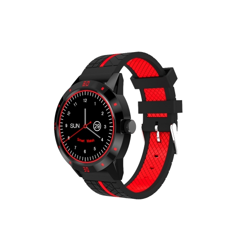 "Smart Watch Multi-fonctionnelle Montre-Bracelet 1.3 ""TFT BT Smartwatch Soutien Poussant Appel Rappel Moniteur de Fréquence Cardiaque Podomètre Musique Lecteur Obturateur de Caméra à distance"