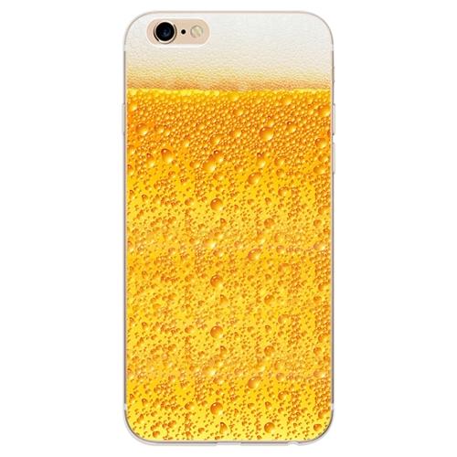 ソフトTPU保護ケースビールパターン面白いデザイン超薄型携帯電話の背面カバーシェル保護ケースiPhone 7/8タイプ1の衝撃吸収アンチスクラッチ#