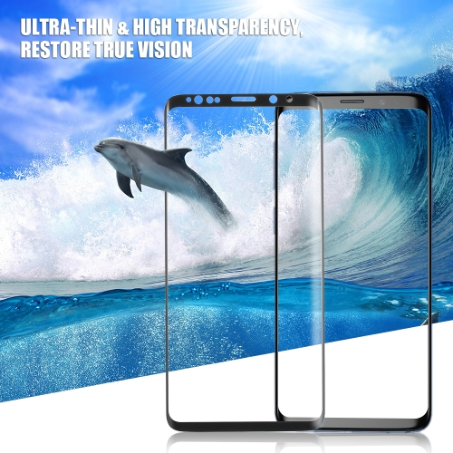 3D Curved Screen Protector HD Clarity Premium Tempered Glass Film Curved Surface 9H Hardness Ultra-thin Full Coverage Front Screen