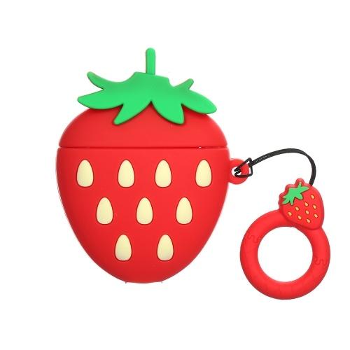 Funda para auriculares tipo fresa de la serie 3D Fruit