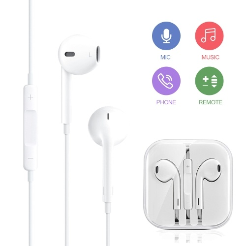 hoco. M1 Original Series In-Ear Earphones Smartphone Universal Wired Control Earphone for iPhone with Remote and Mic