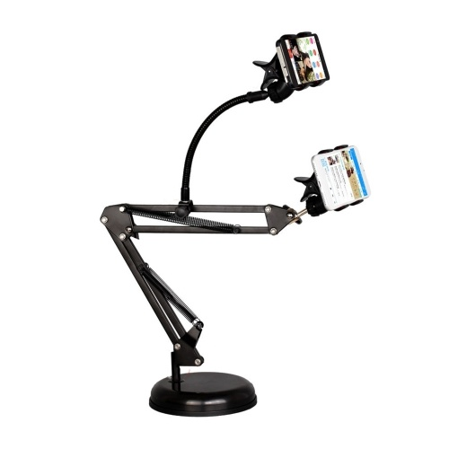 Video Cantilever Dual Mobile Phone Broadcast Bracket Cantilever Dual Mobile Phone Large Disk Broadcast Bracket